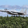 写真: F-15J 919 204sq approach