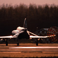 F-4EJ 302sq Sun set 1980.11