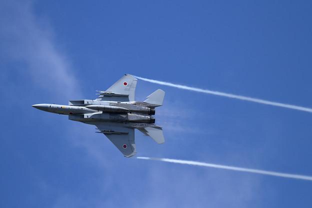 F-15 201sq 機動訓練はじまる (3)