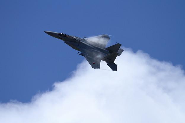 写真: F-15 201sq 機動訓練はじまる (4)