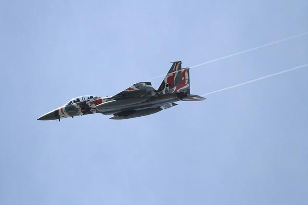 F-15DJ 082 Aggressor approach