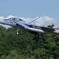 F-15DJ 090 Aggressor approach