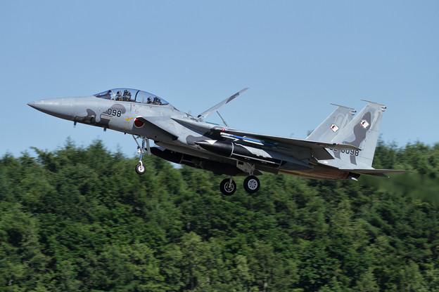 F-15DJ 098 Aggressor approach