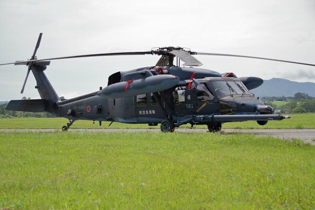 UH-60J 589 八雲分屯基地公開 (2)