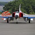 Photos: F-4EJ 302sq 特別塗装機がやって来た(1)