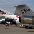 Photos: F-4EJ 302sqとF-104J チョットなつかしい(4)