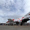 Photos: T-4 Blue impulseとF-4EJ 302sq(2)