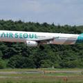 A321-200 AIR SEOUL HL7790 landing