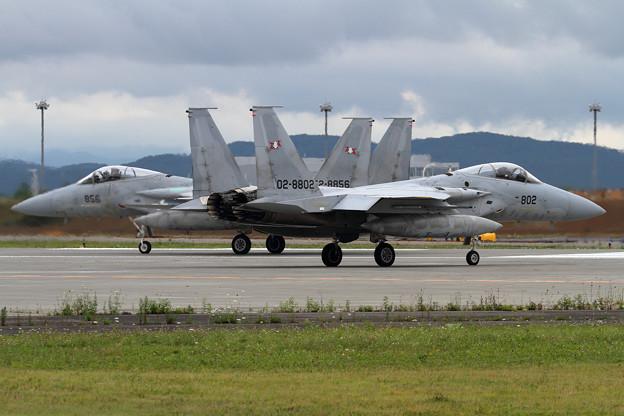 F-15 802 203sq 訓練へ(1)