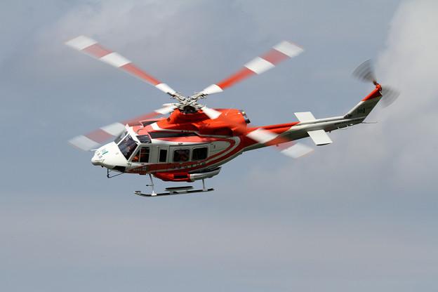 Bell 412EP 北海道防災ヘリ はまなす2号 (1)