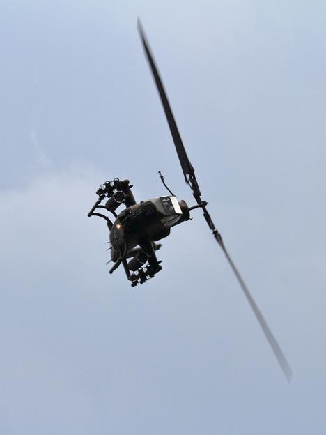 AH-1S 1ATHの飛行展示