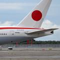 写真: B777-300ER N509BJ 新政府専用機 (2)