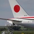 写真: B777-300ER 新政府専用機 80-1111に変更