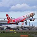 写真: A330 ThaiAirAsiaX Lotte World livery HS-XTD (3)