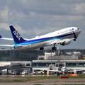B737 NA JA54AN takeoff