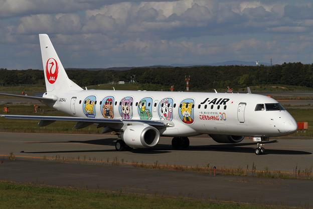 ERJ-190STD J-AIR しまじろうジェット (2)