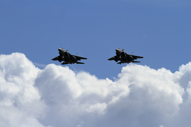 F-15 Formation Low Approach (1)