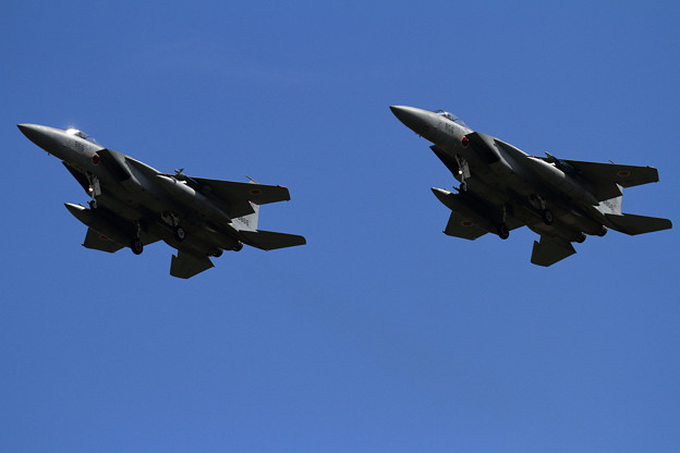 F-15 Formation Low Approach (2)