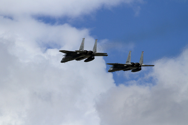 F-15 Formation Low Approach (3)