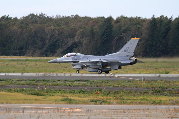 CTSでF-16 WW 90-0807 14FS