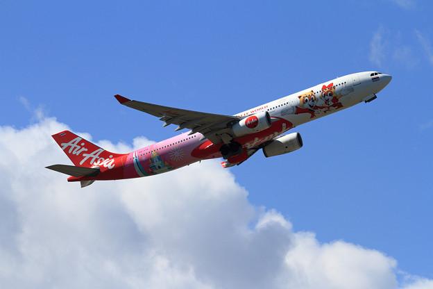 A330 Thai AieAsiaX HS-XTD takeoff