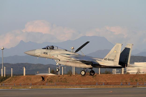 F-15 201sqと夕張岳