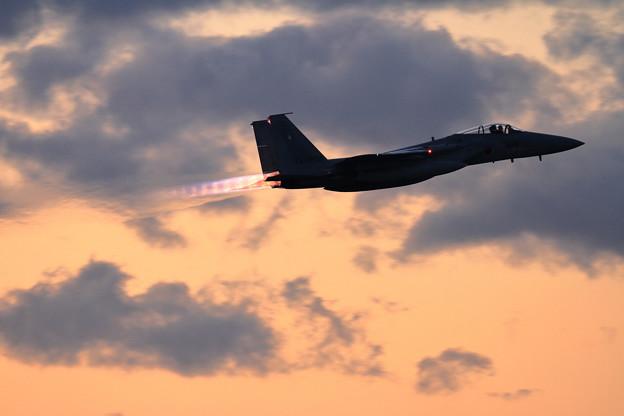 F-15 203sq Afterburner 3連発(1)