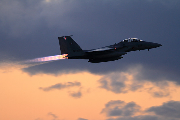 F-15 203sq Afterburner 3連発(2)