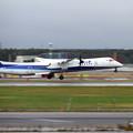 写真: Q400 JA464A takeoff