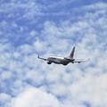 写真: ERJ-170STD J-AIR 秋空に駆け上がる