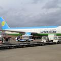 Photos: B767 Uzbekistan UK67003 飛来 (3)