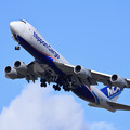 Photos: B747-8F NCA JA13KZ lowpass