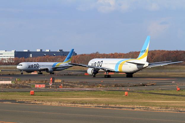 B767-300 AIR DOのJA98ADとJA01HD