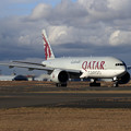 Photos: B777Freighter A7-BFC Qatar Airways Cargo taxiing