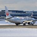 Photos: B737 JAL さあ,でかけよう北海道 JA306J