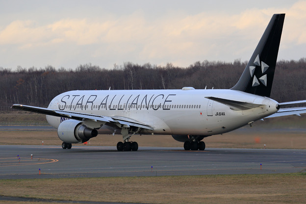 B767 ANA Star Alliance JA614A (2)