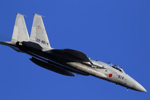 F-15J 814 201sq right turn