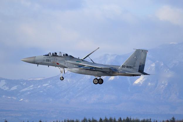 F-15DJ 091 204sq approach