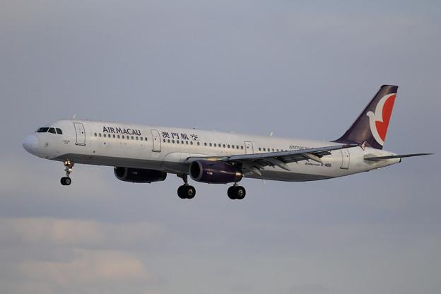 A321 Air Macau B-MBB approach