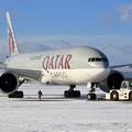 Photos: Boeing777F Qatar Airways Cargo A7-BFF push back