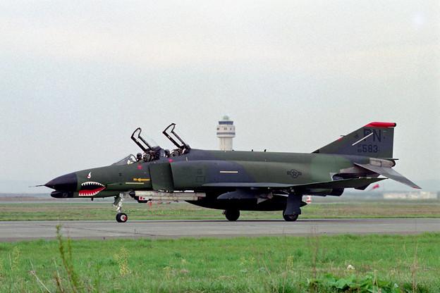 USAF F-4G 69-7583 PN CTS 1980