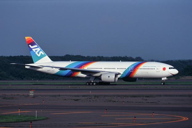 Photos: B777-200 JA8978 Japan Air System JAS 1997.08