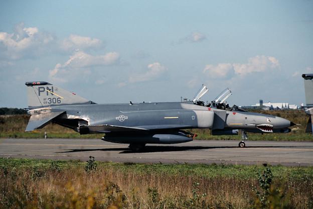 USAF F-4G 69-0306 PN 90TFS CTS 1989.09