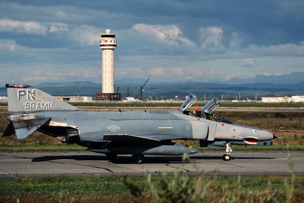 USAF F-4G 69-7208 90AMU PN CTS 1989.09