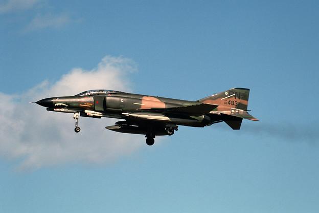 USAF F-4E 68-0493 PN 3TFS MSJ 1980.10