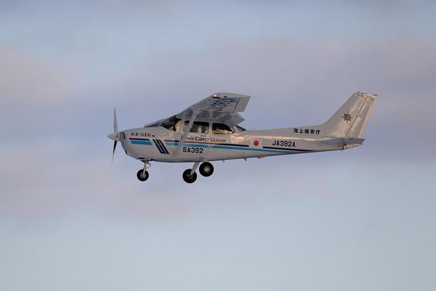 Cessna172S JA392A JCG あまつばめ approach