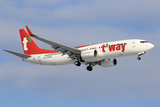 Photos: B737-800 Tway Airlines HL8323