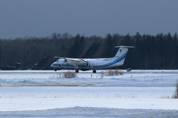 Bombardier Q300 JA723A JCG takeoff