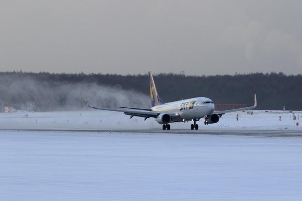 B737 SKY landing