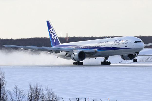 B777 ANA landing